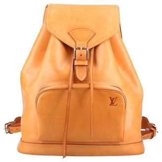 Louis Vuitton Montsouris Leather Backpack