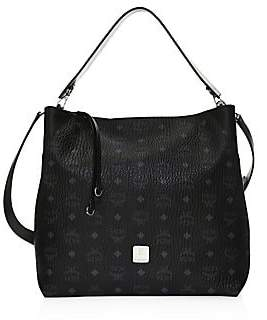 MCM Women's Large Klara Visetos Hobo Bag