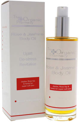 D.E.P.T The Organic Pharmacy 3.3Oz Rose & Jasmine Body Oil