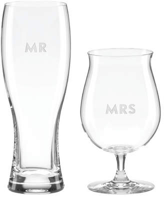 Kate Spade Darling Point 2 Piece Beer Glass Set