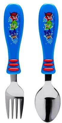 Zak Designs PJ Masks 2pc Kids Silverware Set Blue/Red