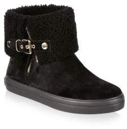 Burberry Shearling Ankle Boots