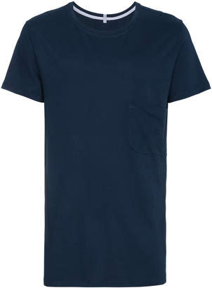 Lot 78 Lot78 navy cotton blend short sleeve t shirt