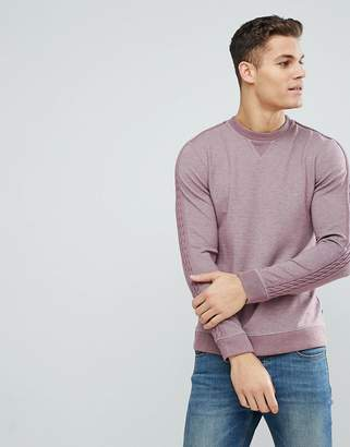 Ted Baker Sweat With Sleeve Detail