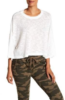 Cotton On & Co. Maisy 3\u002F4 Sleeve Raw Seam Pullover