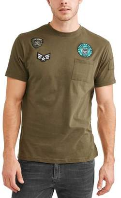 Generic Men's Short Sleeve Neck Jersey With Military Patch