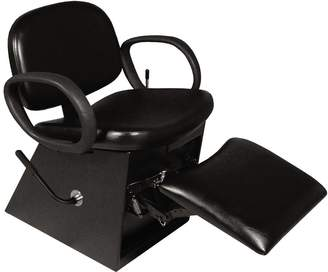 Equipment Collins Contour Shampoo Chair with Legrest Black