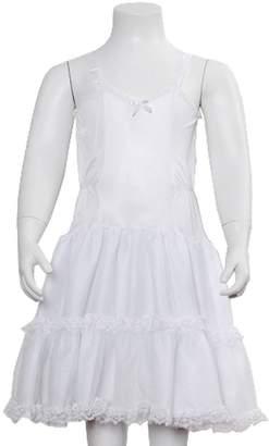Laura Dare Girls Undergarment Bouffant Full Slip Adjustable Straps