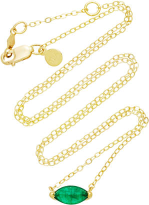Ila 14K Gold Emerald Necklace