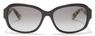 Bobbi Brown Sandra 57mm Oval Sunglasses