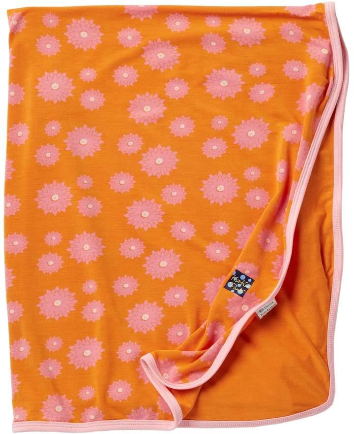 KicKee Pants Print Swaddling Blanket in Sunset Water Lily
