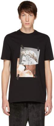 Neil Barrett Black Brutus Lion T-Shirt