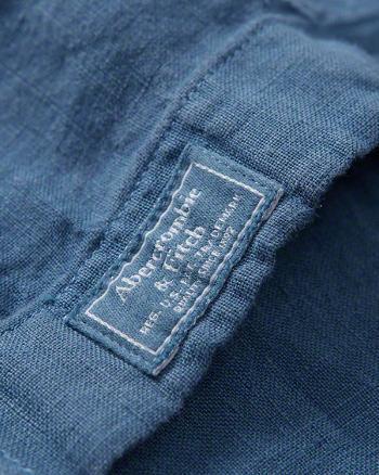 Garment Dye Linen Shirt 3