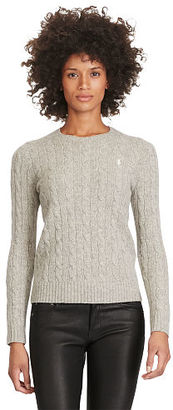 Polo Ralph Lauren Wool Blend Crewneck Sweater $98.50 thestylecure.com
