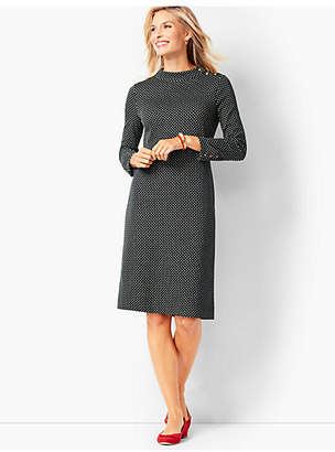 Talbots Mockneck Shift Dress