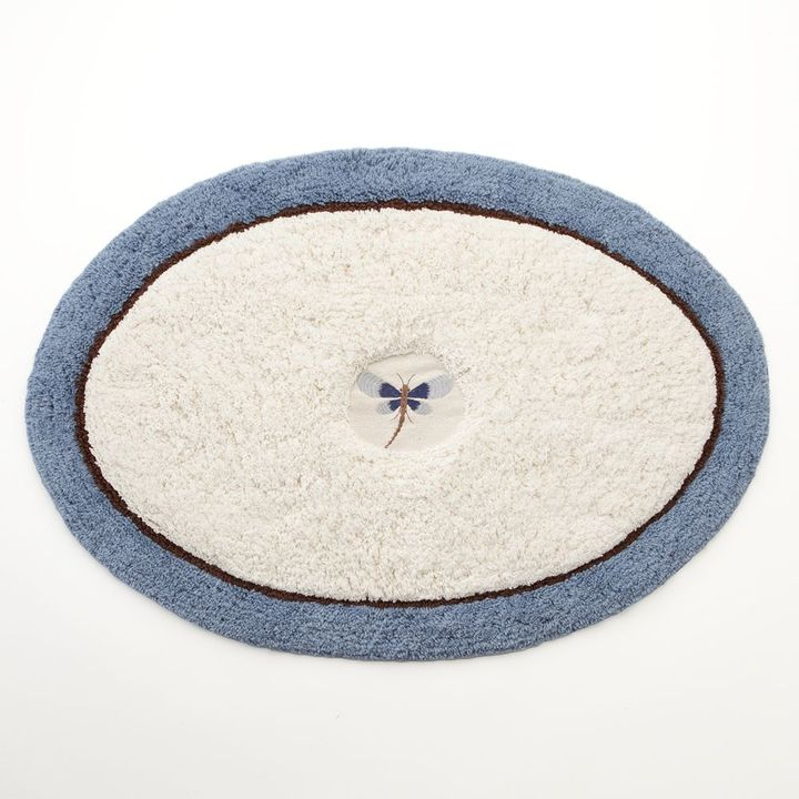 Croft & barrow ® dragonfly valley bath rug