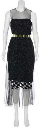 Christian Dior Sleeveless Maxi Dress