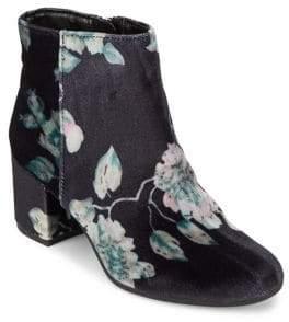Sam Edelman Vikki Floral Velvet Booties