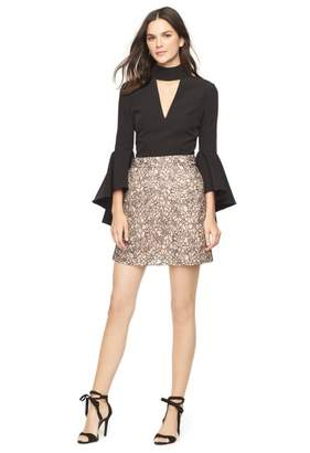 Milly Corded Lace Modern Mini Skirt