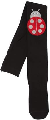Stella McCartney Ladybugs Intarsia Cotton Knit Tights
