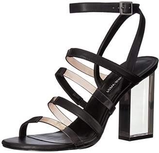 Nine West Women's FAZZANI Synthetic Heeled Sandal