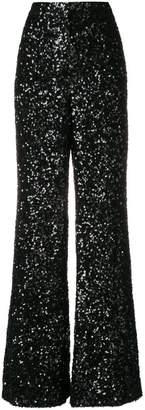 Victoria Beckham Victoria sequined flared pants