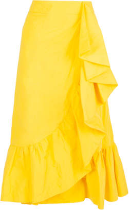 Blend of America La DoubleJ Jazzy ruffled cotton skirt