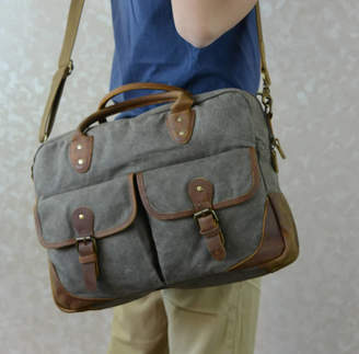 EAZO Canvas Laptop Bag Gift For Him