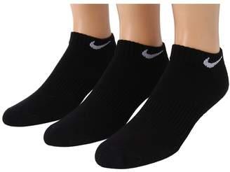 Nike Cotton Cushion Moisture Management Low Cut 3-Pair Pack Boys Shoes