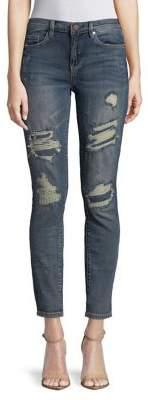 Blank NYC BLANKNYC Distressed Classic Skinny Crop Jeans