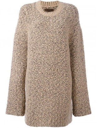 Yeezy Oversized Teddy Boucle Sweater $1,100 thestylecure.com