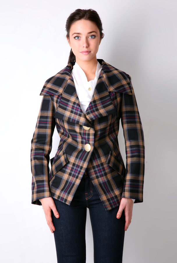 Vivienne Westwood Multi New Propoganda Plaid Jacket