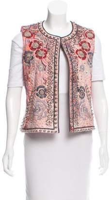 Isabel Marant Embellished & Embroidered Vest