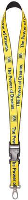 Balenciaga Yellow Power of Dreams lanyard