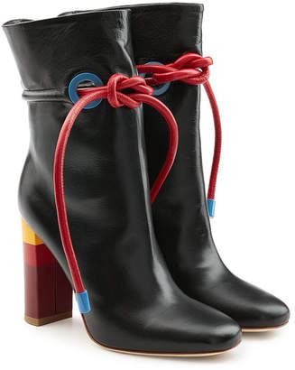 Malone Souliers X Roksanda Leather Ankle Boots