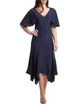 SABA Lou Silk Sleeved Dress