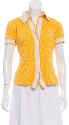 Diane von Furstenberg Silk-Blend Sienna Top