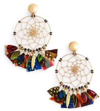 Gas Bijoux Dream Catcher Drop Earrings