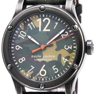 Ralph Lauren Safari RLR0220711 Stainless Steel Green Dial Automatic 45mm Mens Watch