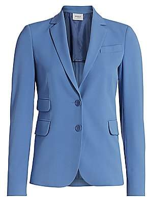 Akris Punto Women's Two-Button Pocket Blazer