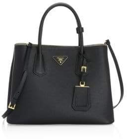 Prada Saffiano Cuir Medium Double Bag