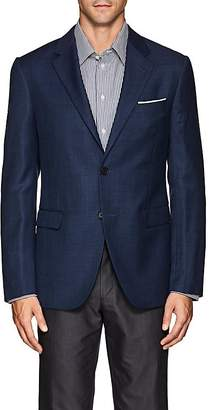 Barneys New York MEN'S SHANG WOOL-SILK TWO-BUTTON SPORTCOAT