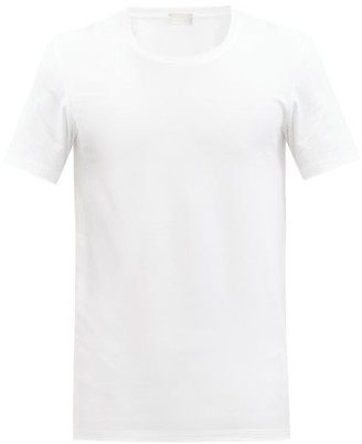 Hanro Stretch Cotton Jersey T Shirt - Mens - White