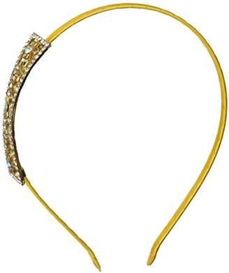 Uxcell Lady Rhinestone Inlaid Bowknot Decor Hair Hoop