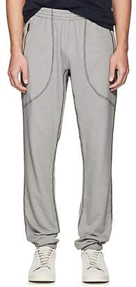 Tomas Maier Men's Cotton-Blend Terry Sweatpants - Silver