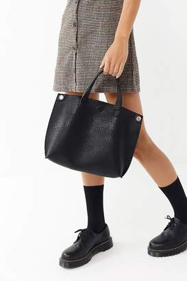 Urban Outfitters Mini Reversible Faux Leather Tote Bag