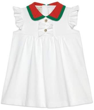 Gucci Baby cotton piquet dress