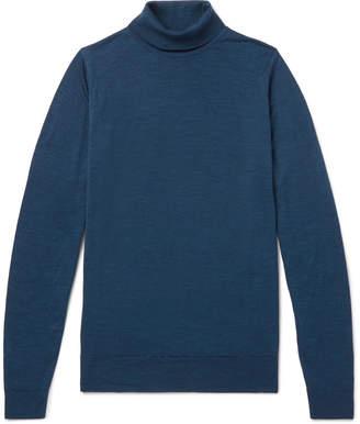 John Smedley Merino Wool Rollneck Sweater