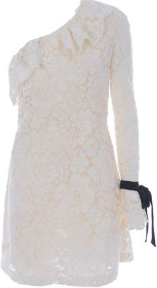 Philosophy di Lorenzo Serafini One Shoulder Lace Dress