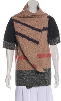 By Malene Birger Knit Short Sleeve Cardigan